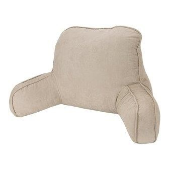 Micro Suede Backrest Oatmeal by Easyrest