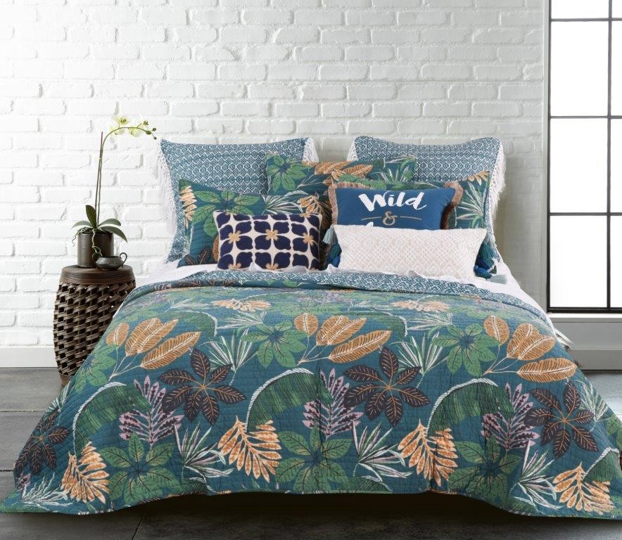 Beckett Quilted Coverlet