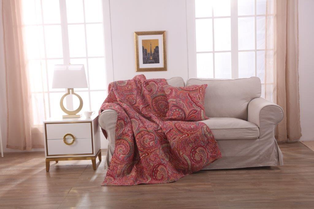 Boston Throw Rug & Free Cushion