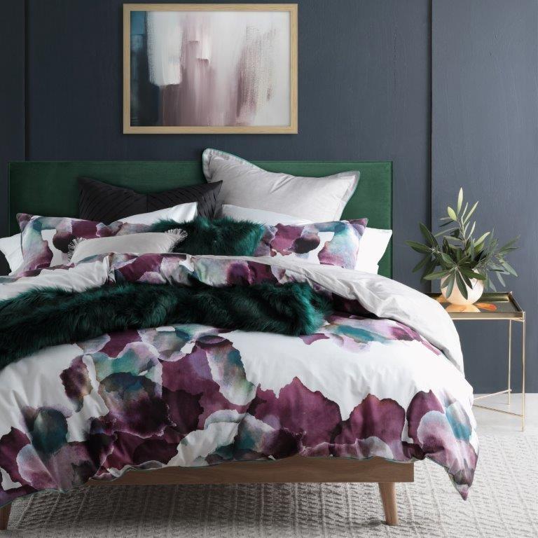 Breeze Plum By Logan Amp Mason Quilt Covers Best Price Linen