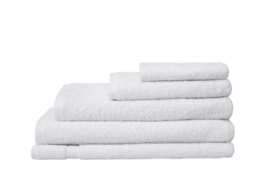 Chateau Commercial Grade White Cotton Towel Range