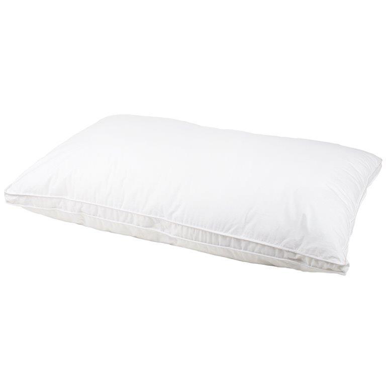 Satin Pillowcase Dublin: Chateau Micro Down Commercial Grade Standard Pillow
