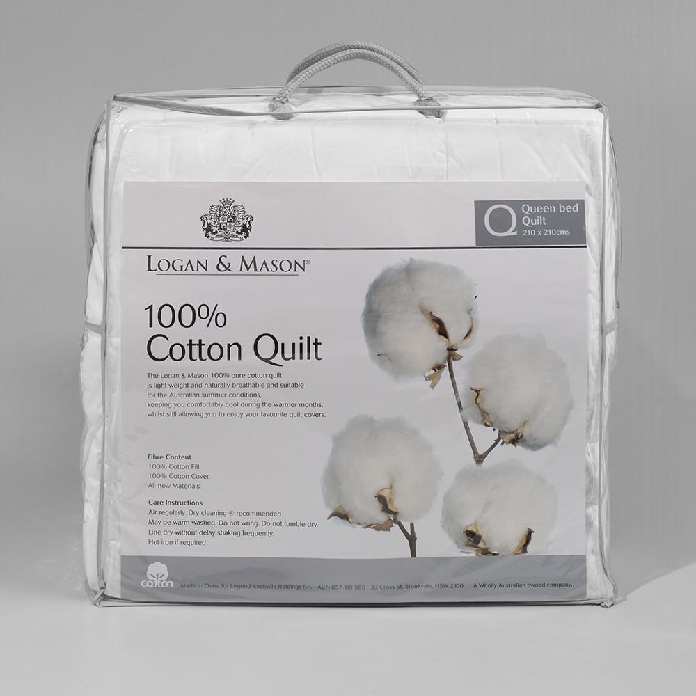 Cotton Quilt by Logan & Mason