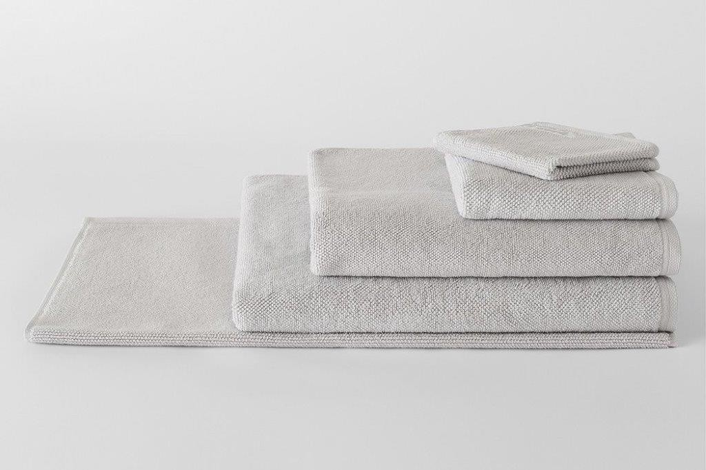 Cotton Twist Cool Grey Towel Range by Sheridan