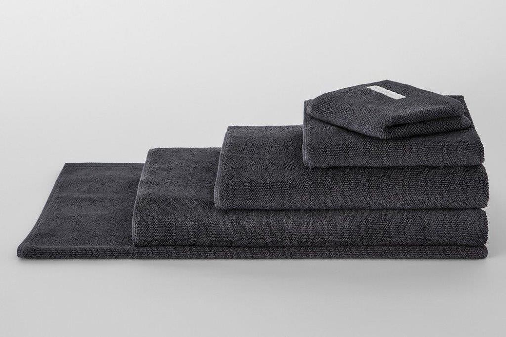 Cotton Twist Graphite Towel Range by Sheridan