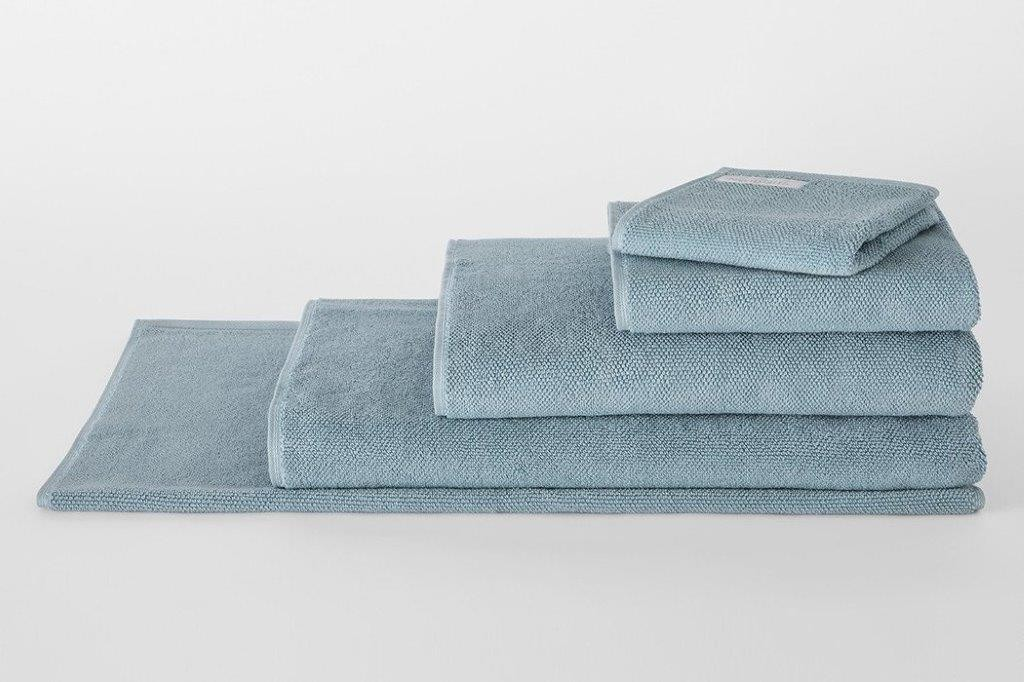 Cotton Twist Misty Teal Towel Range by Sheridan