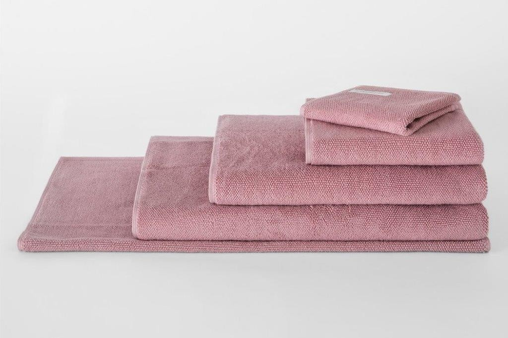 Cotton Twist Rose Bud Towel Range by Sheridan