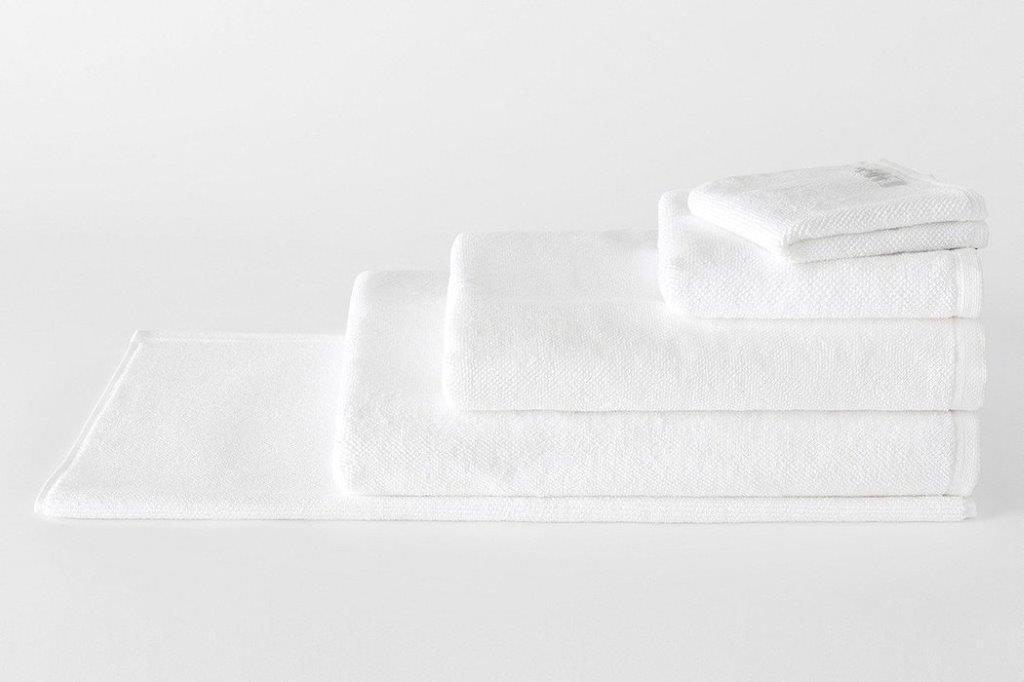 Cotton Twist White Bath Towel Range by Sheridan