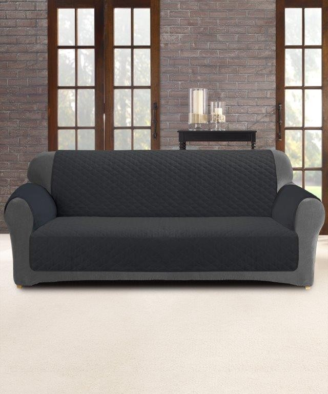 Slate 2 Seater Custom Fit Couch Protector