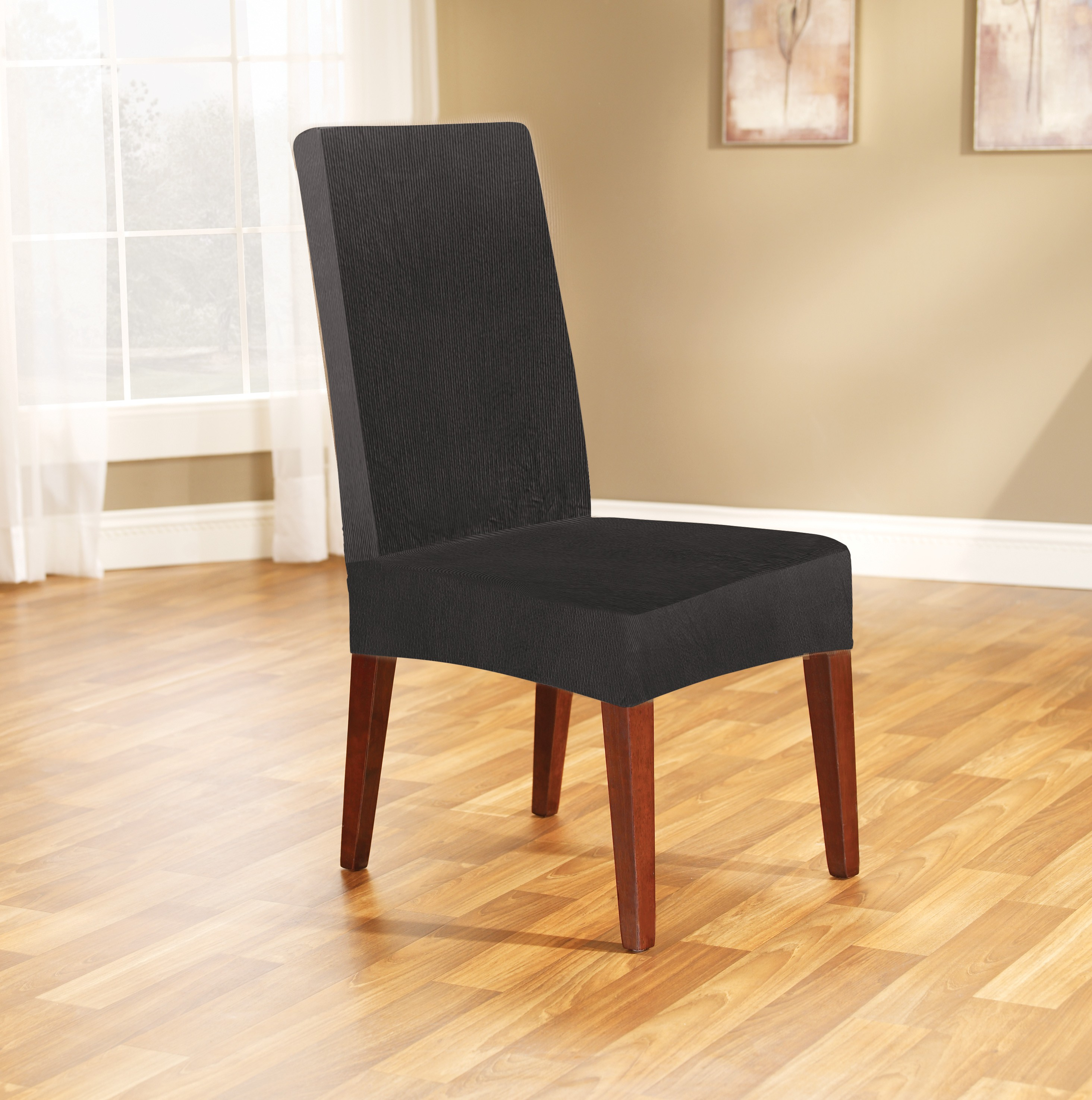 Ebony Dining Chair Cover by Surefit