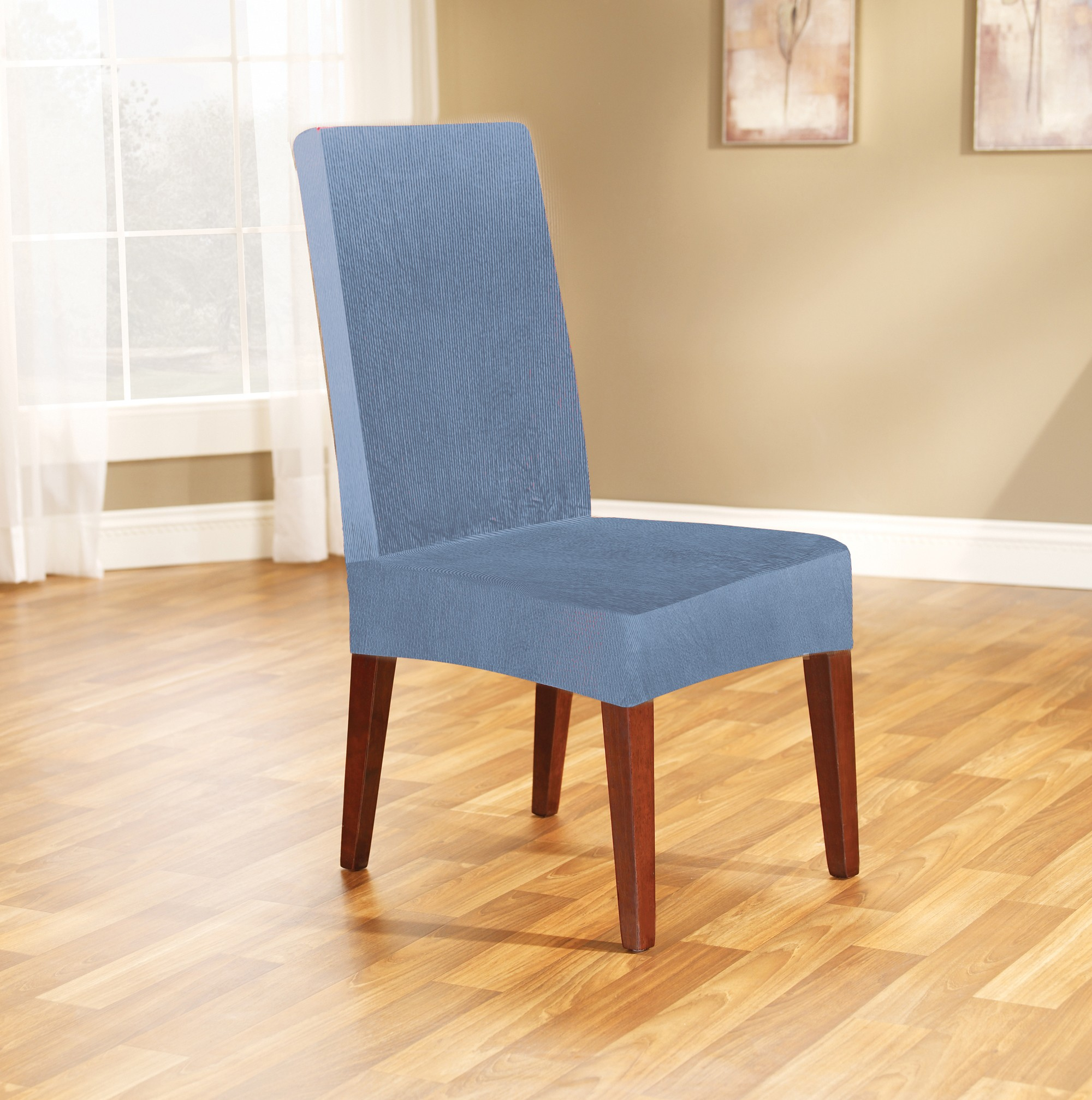 dining room chair covers blue 28 images 4x stretch  : diningchaircover federalblue from homee.biz size 2000 x 2014 jpeg 554kB
