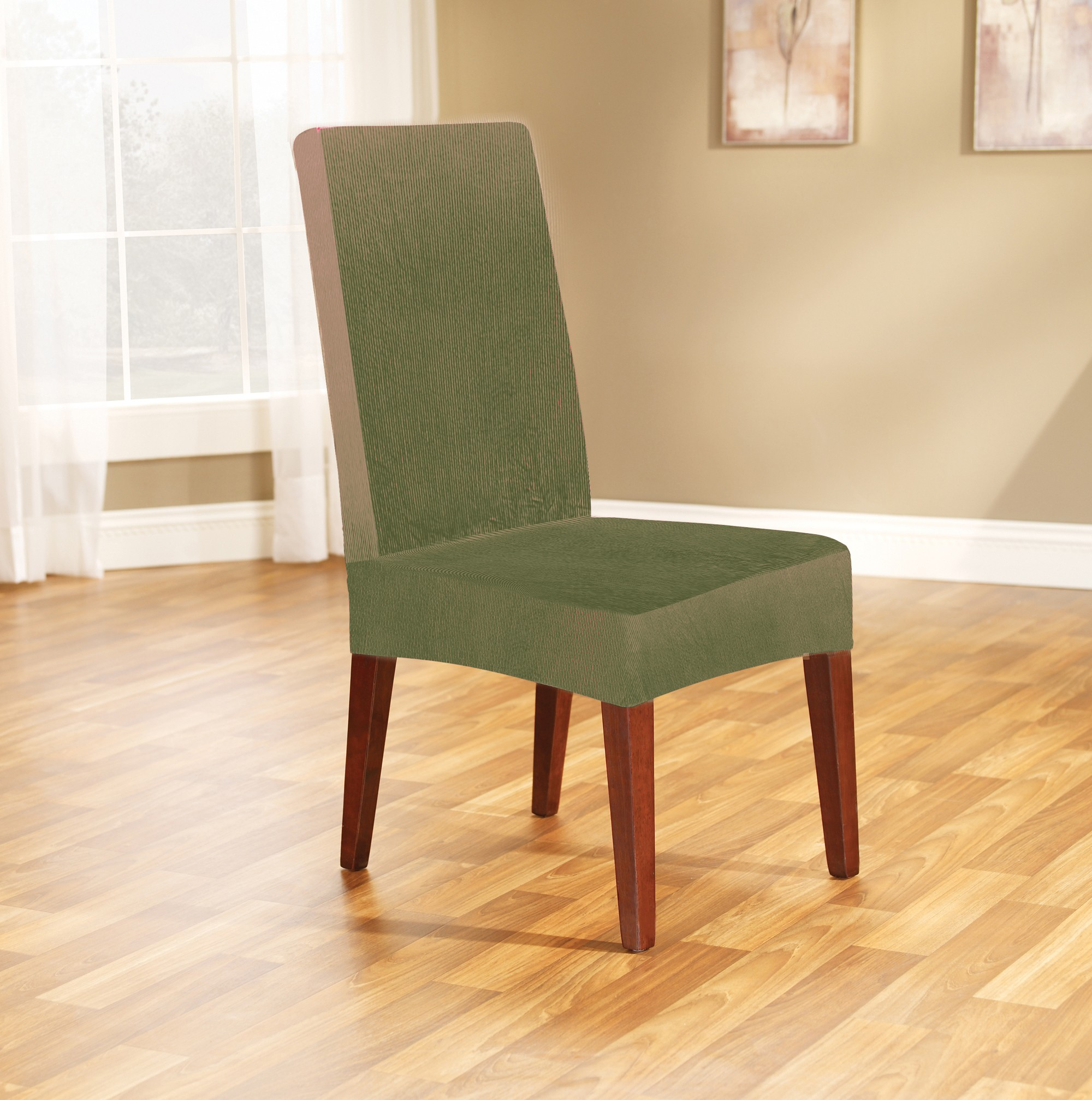 Sage Dining Chair Cover By Surefit Couch Covers Best