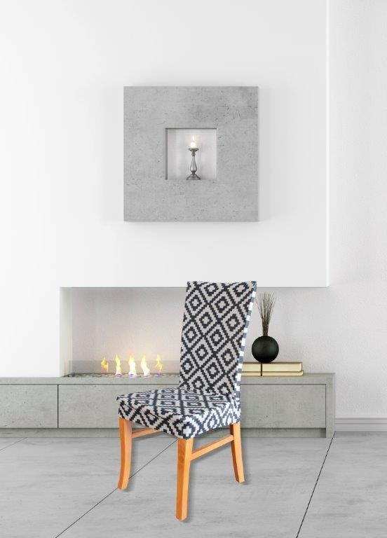 Tribal Dining Chair Cover by Surefit