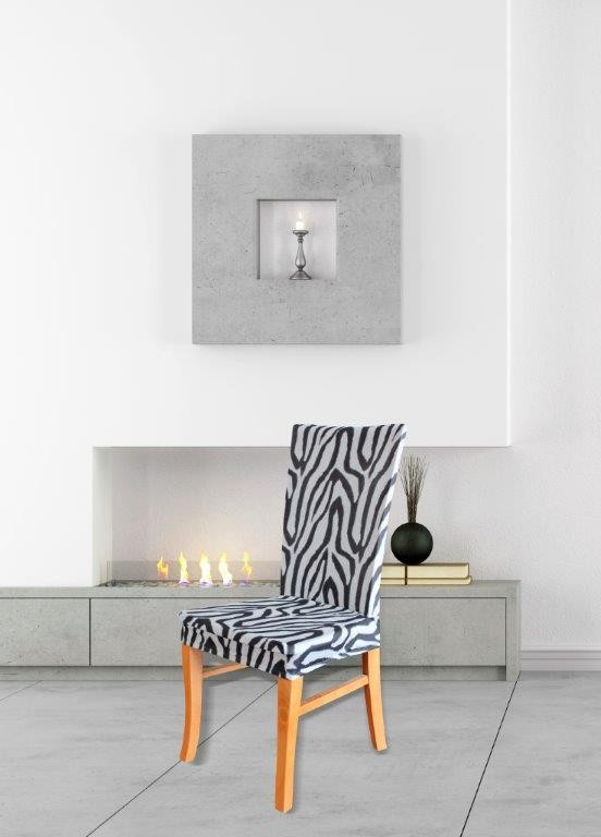 Zebra Dining Chair Cover by Surefit