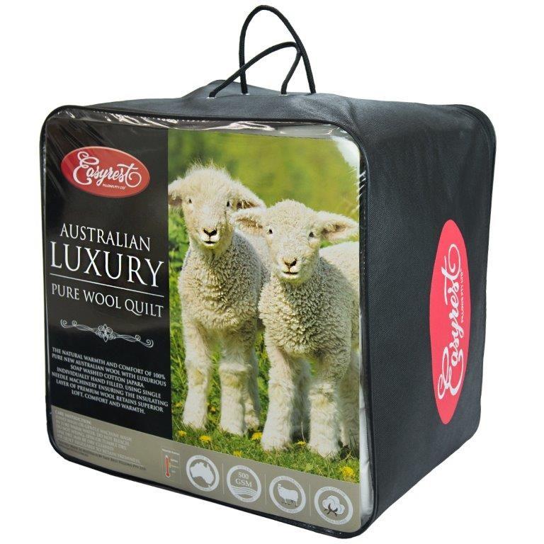 100% Australian Wool Winter Quilt by Easyrest