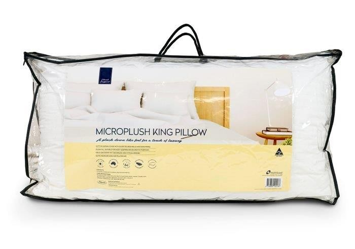 Cloud Support Microplush King size Pillow by Easyrest