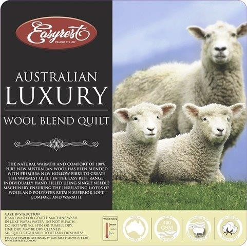 Australian Wool Blend Quilt by Easyrest
