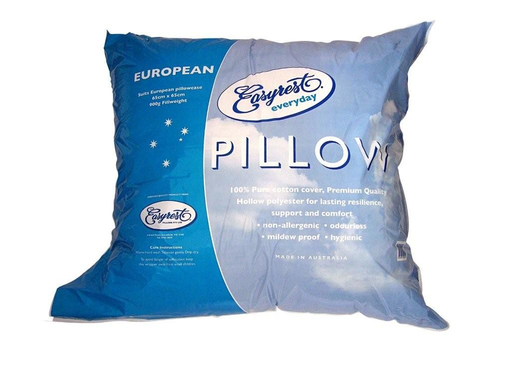 Everyday European Pillow by Easyrest