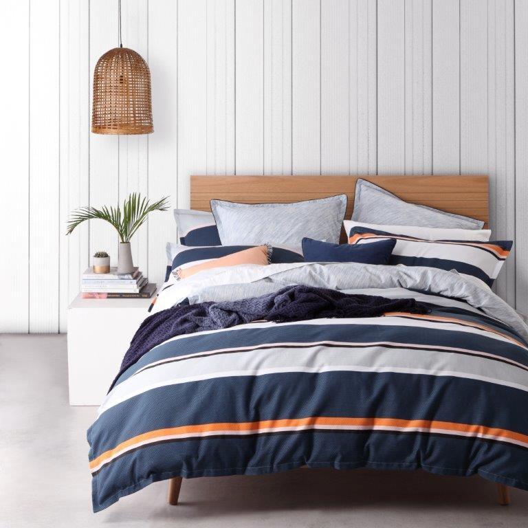 Ellis Denim By Logan Amp Mason Super King Bed Best Price