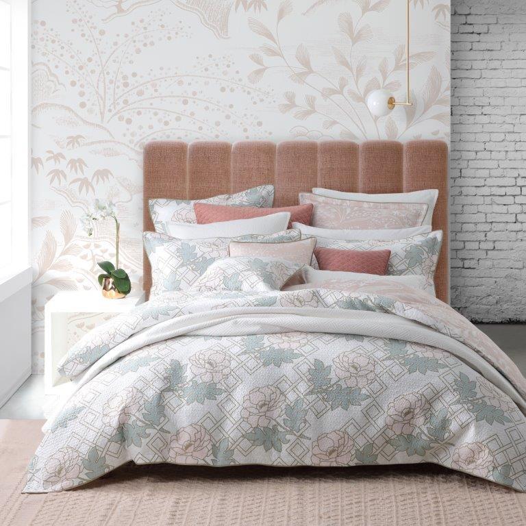 Floral Trellis Blush by Florence Broadhurst