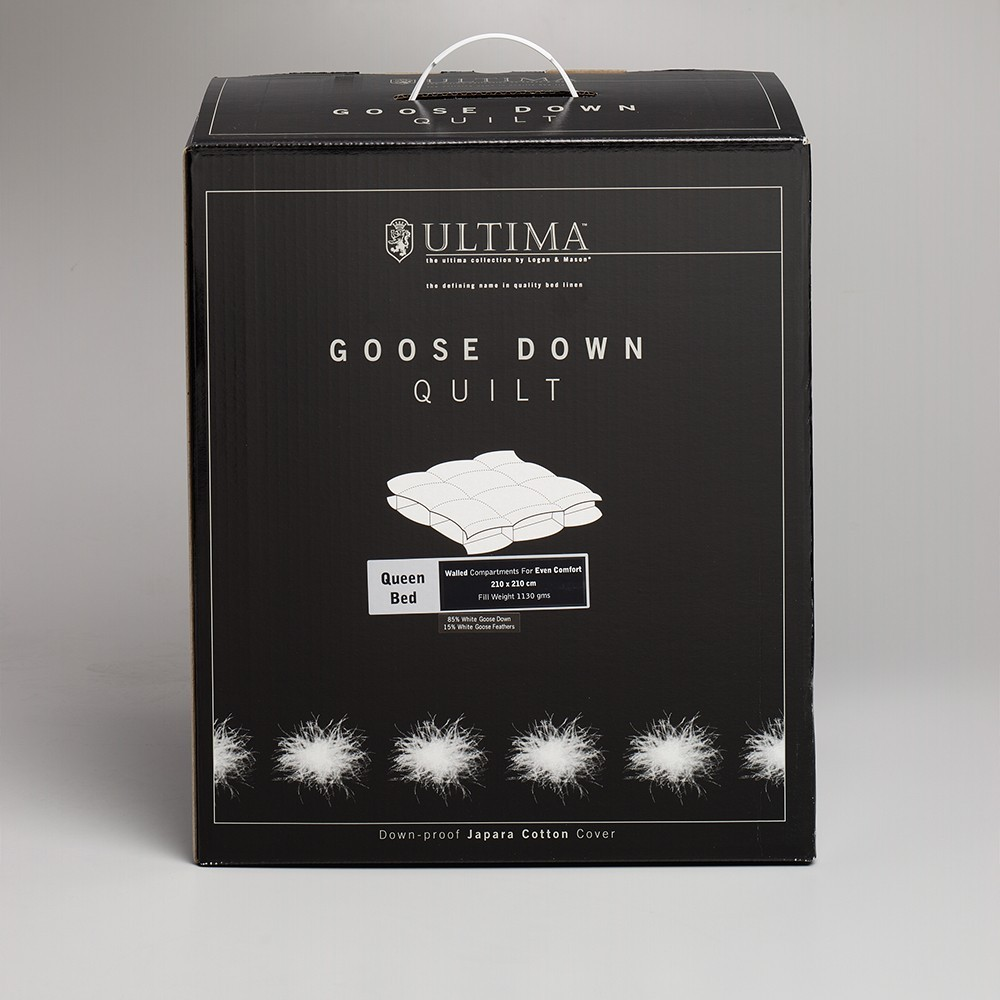 85% Goose down/15% feather Quilt by Logan & Mason