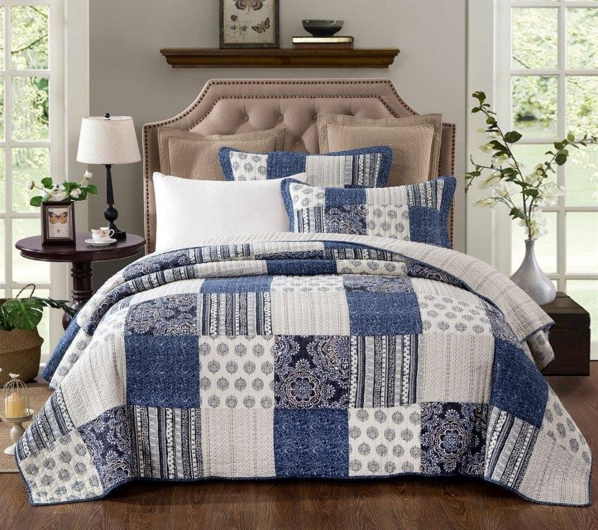 Horizon Quilted Coverlet