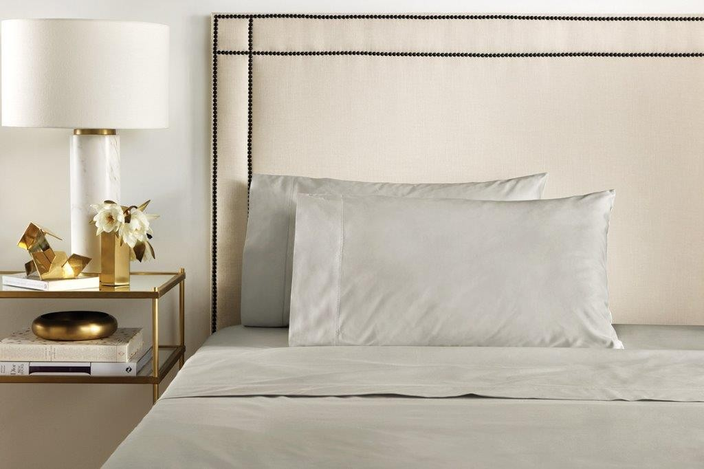 1000 Thread Count Hotel Weight Cotton Sateen Sheeting Range in Wicker by Sheridan