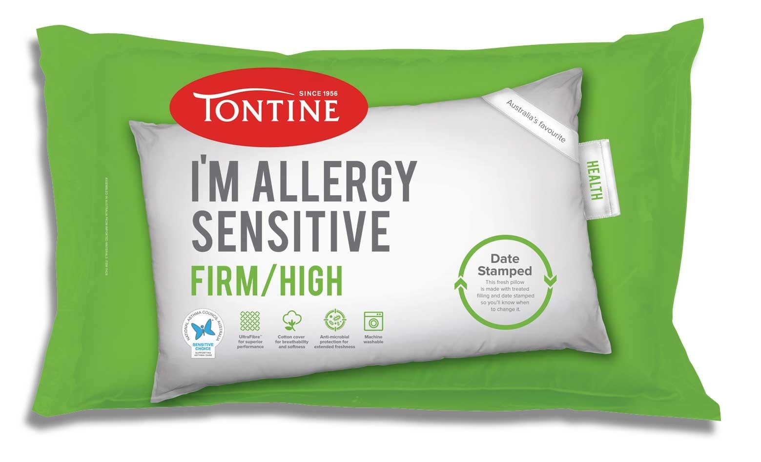 I'm Allergy Sensitive Pillow Firm by Tontine