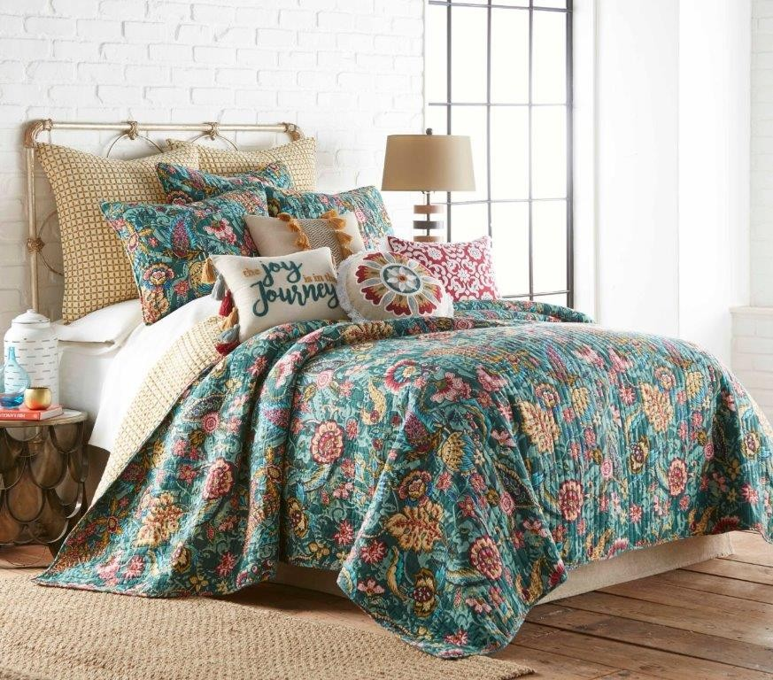 Ingrid Quilted Coverlet