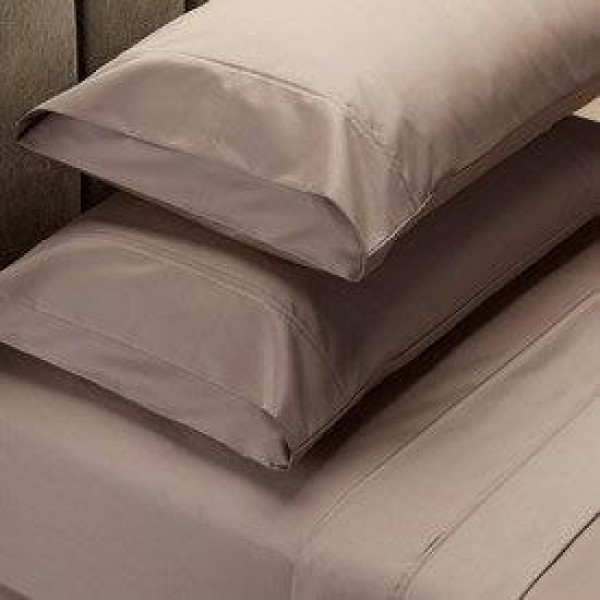 King bed 1000 Thread Count Cotton Rich Sheet Set Stone by Jenny McLean