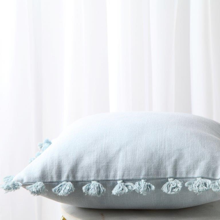 Kasai Teal Square Cushion by Royal Doulton