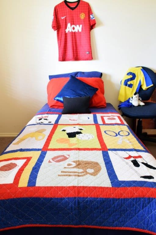 Play to Win Quilted Throw