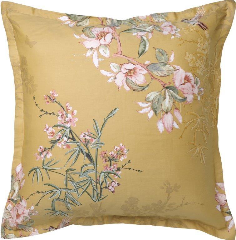 Kintori Gold European Pillowcase by Private Collection