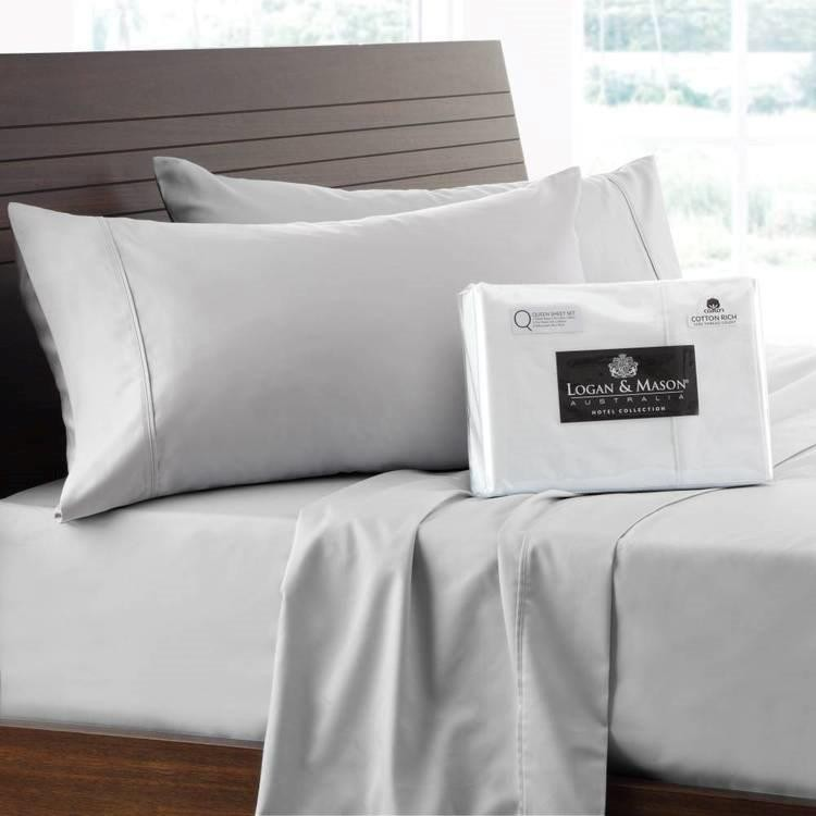 1500 Thread Count Sheet Sets Silver by Logan & Mason