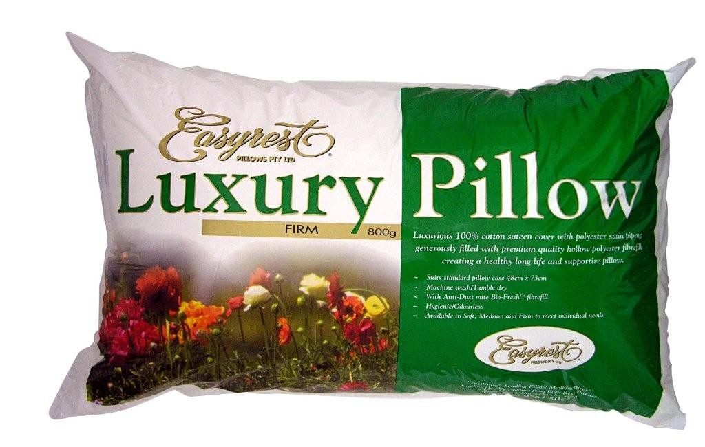 Luxury Sateen Firm Pillow by Easyrest