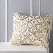 Merivale Gold Cushion by Logan & Mason