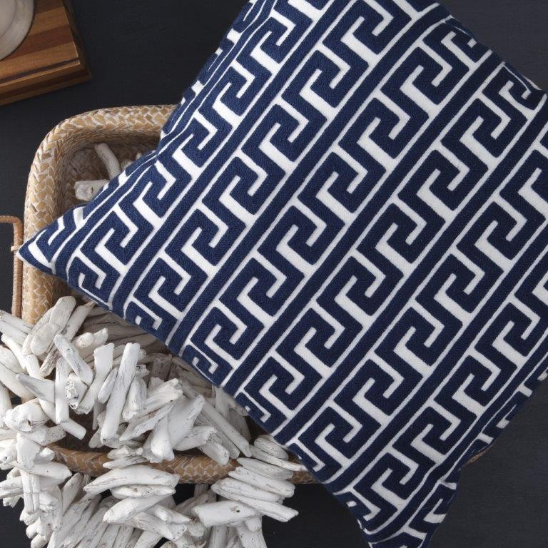 Nikkos Pontoon Cushion by Logan & Mason