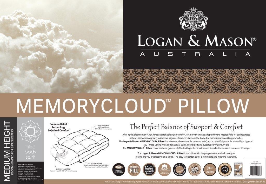 Memory Cloud Pillow by Logan & Mason