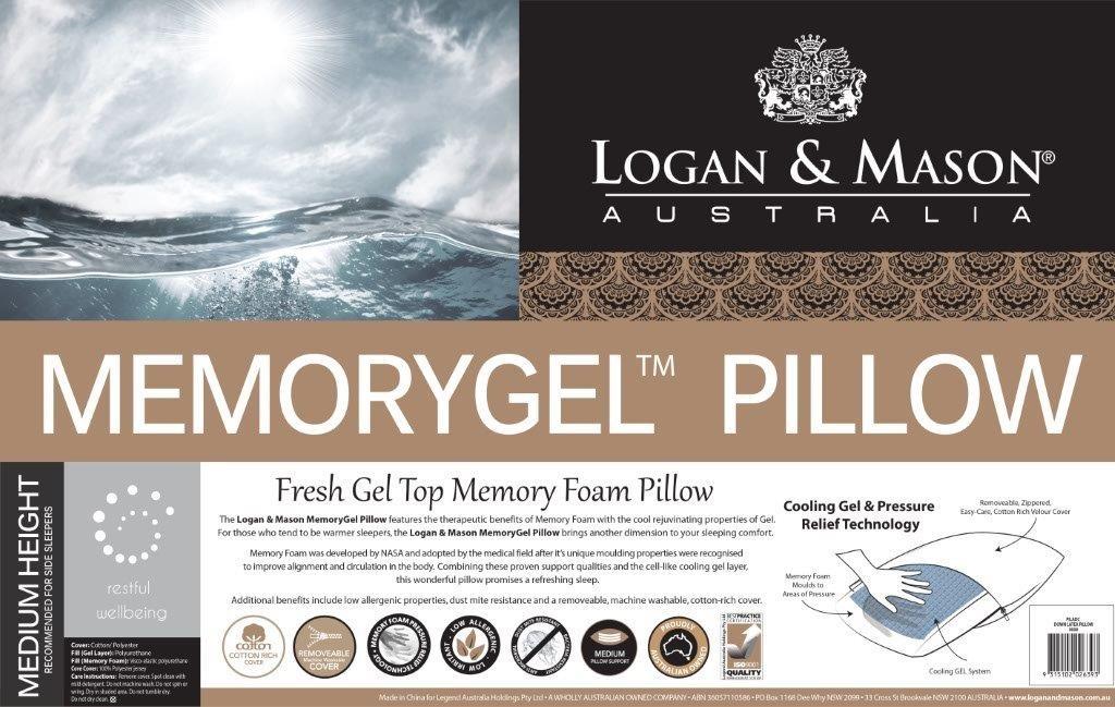Memorygel Pillow by Logan & Mason