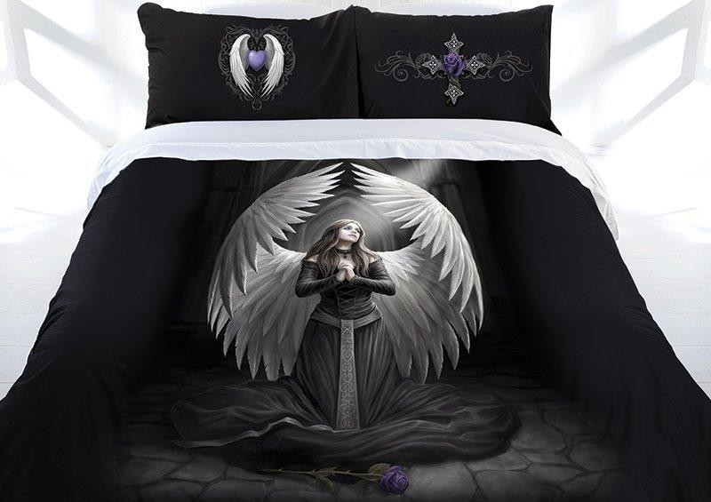 Z Anne Stokes Collection Prayer For The Fallen Quilt Cover Set