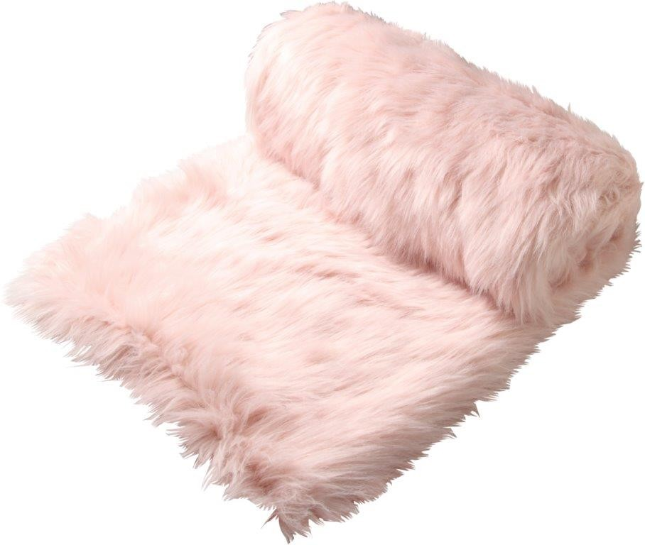 Presley Blush Throw Rug by Logan & Mason