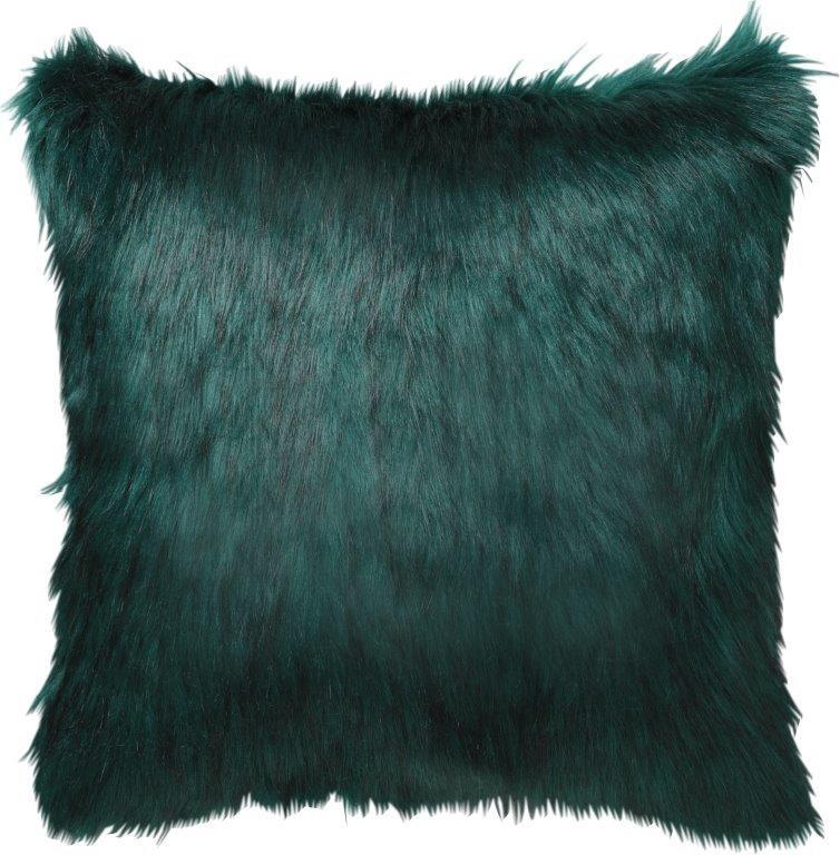 Presley Square Cushion Emerald by Logan & Mason