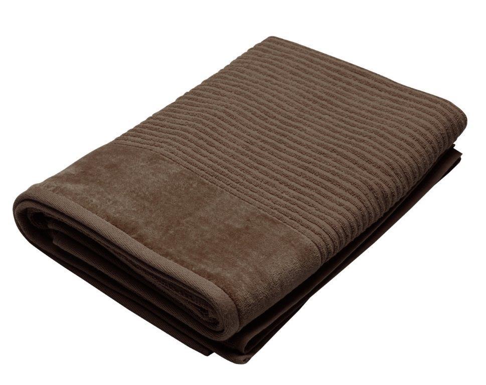 Royal Excellence 2 Piece Cotton Bath Sheet Set Mocha