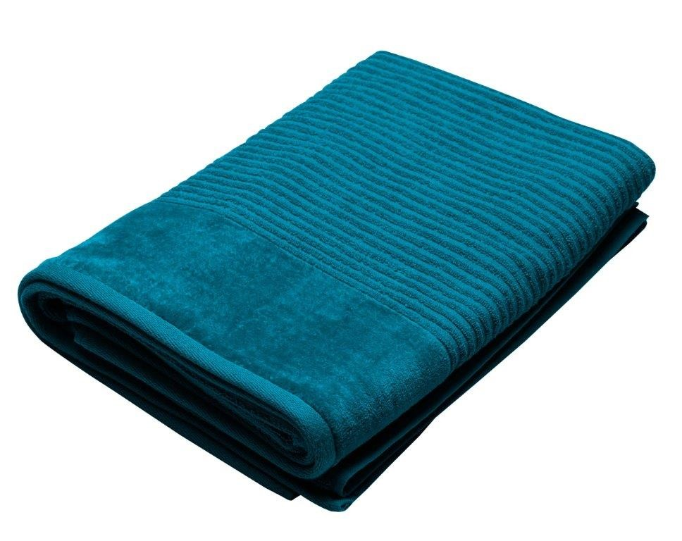 Royal Excellence 2 Piece Cotton Bath Sheet Set Teal