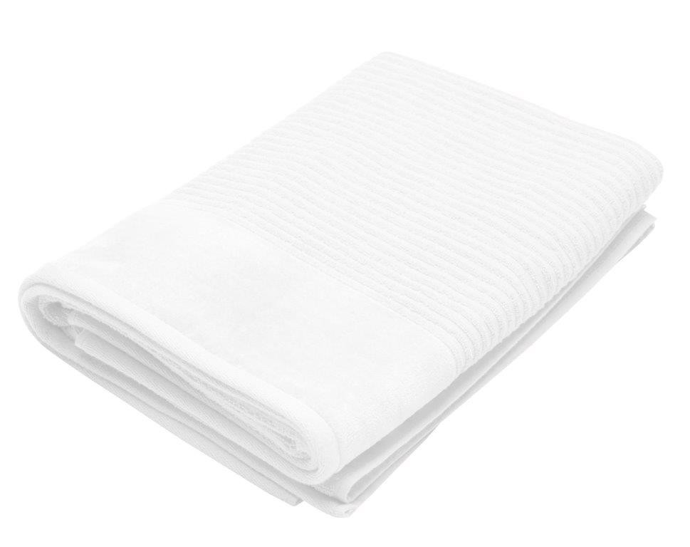 Royal Excellence 2 Piece Cotton Bath Sheet Set White