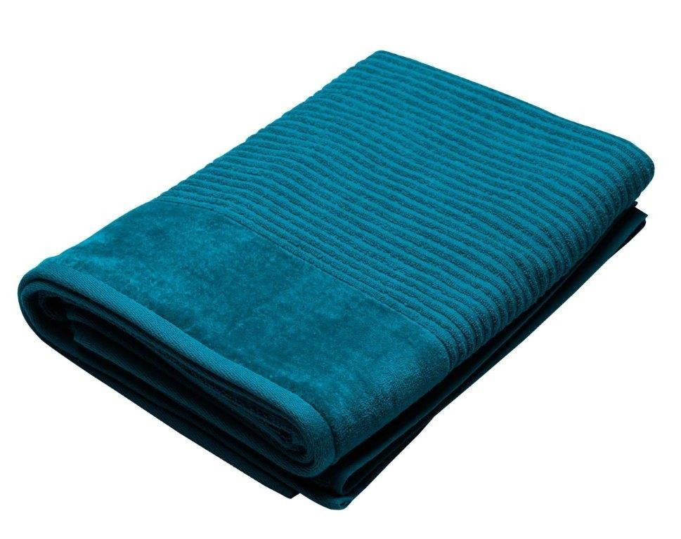 Royal Excellence 4 Piece Cotton Bath Towel Set Teal