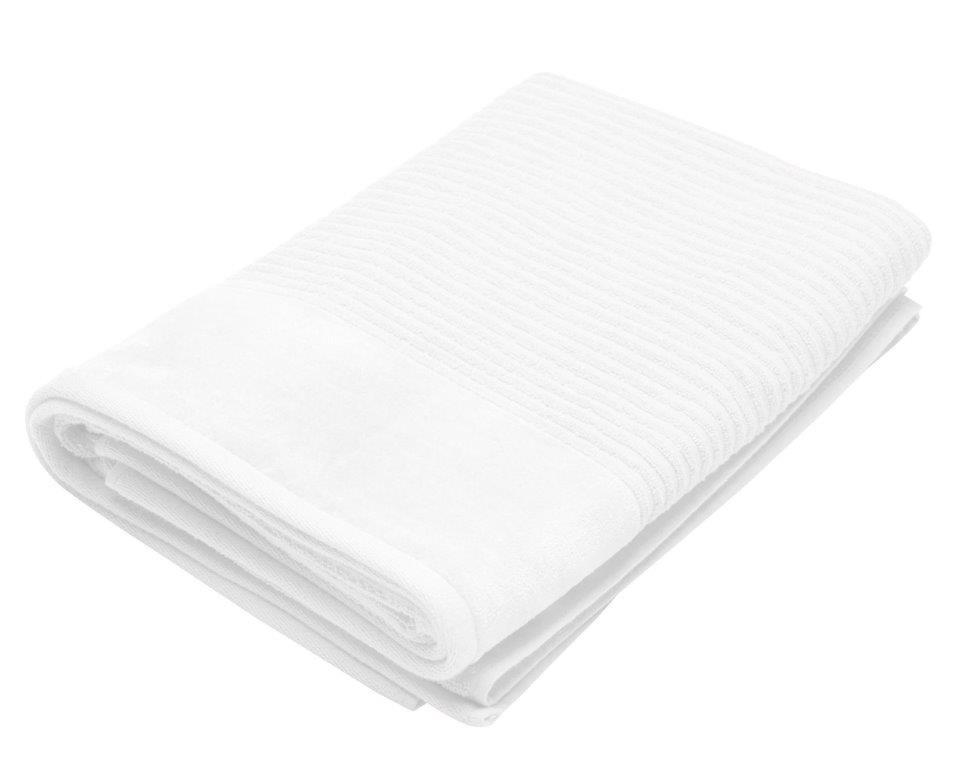Royal Excellence 4 Piece Cotton Bath Towel Set White