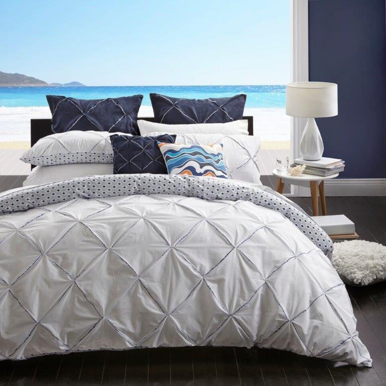 Santorini Sapphire By Logan Amp Mason Quilt Covers Best