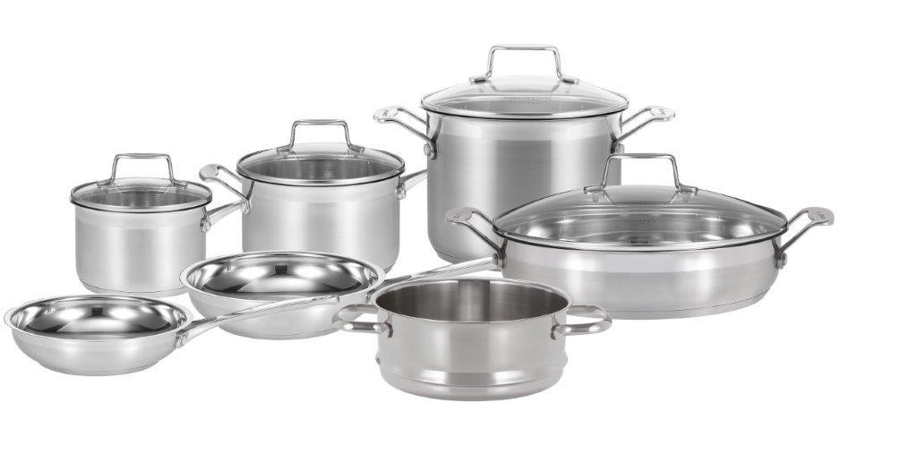 Impact 7 Piece Cookware Set by Scanpan