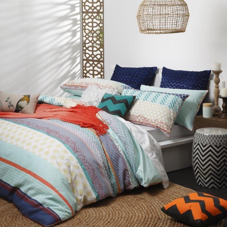 Shanti Turquoise By Logan Amp Mason Quilt Covers Best